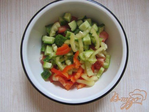 Салат  с салакисом