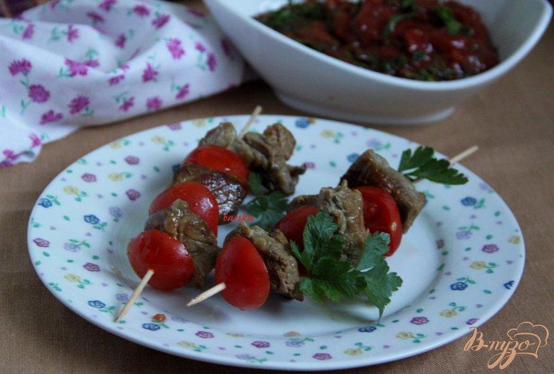 Фото приготовление рецепта: Шашлык на сковороде шаг №4