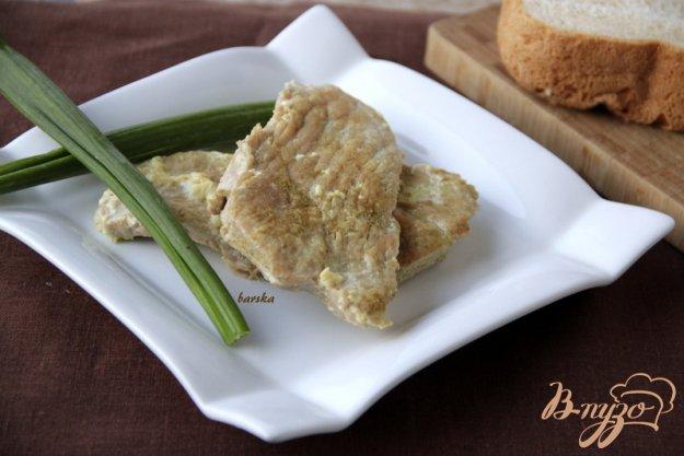 Рецепт Свинина-карри в молоке