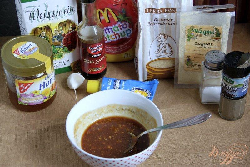 Фото приготовление рецепта: Окорочка, запечённые в пряном маринаде шаг №2