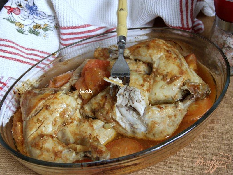 Фото приготовление рецепта: Окорочка, запечённые в пряном маринаде шаг №4