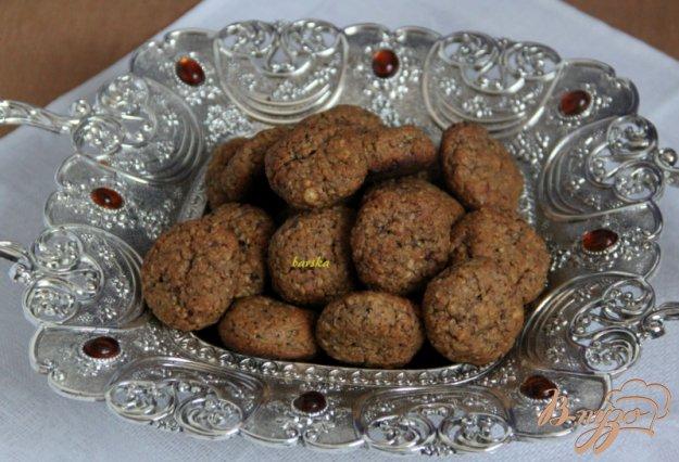 Рецепт Орехово-ржаное печенье