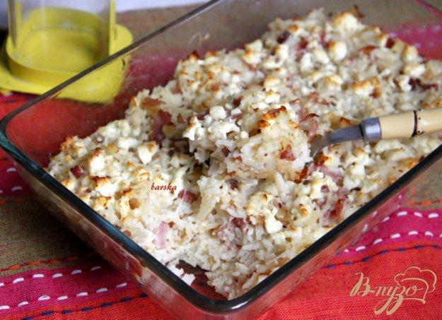 фото рецепта: Ризопита - рисовая запеканка по-гречески