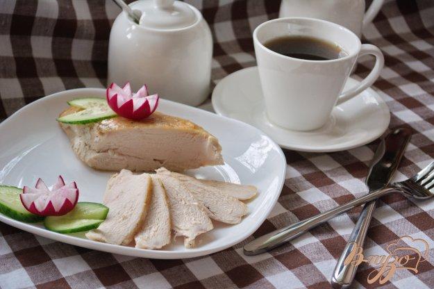 фото рецепта: Курочка для бутерброда (завтрака)