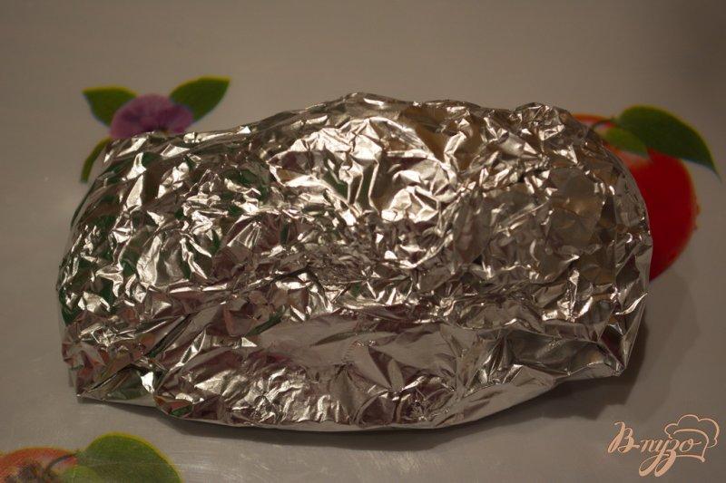 Фото приготовление рецепта: Курочка для бутерброда (завтрака) шаг №5