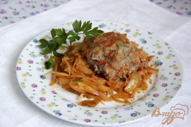Рецепт Капуста с тефтелями по-северословацки