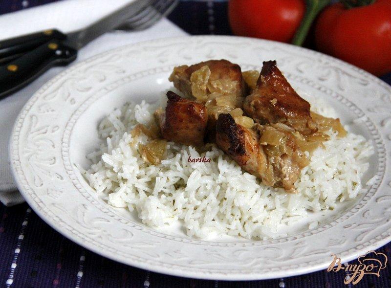 Фото приготовление рецепта: Свинина запечёная шаг №5