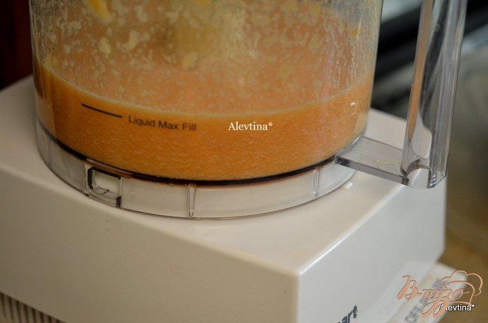 Фото приготовление рецепта: Пунш из дыни шаг №3