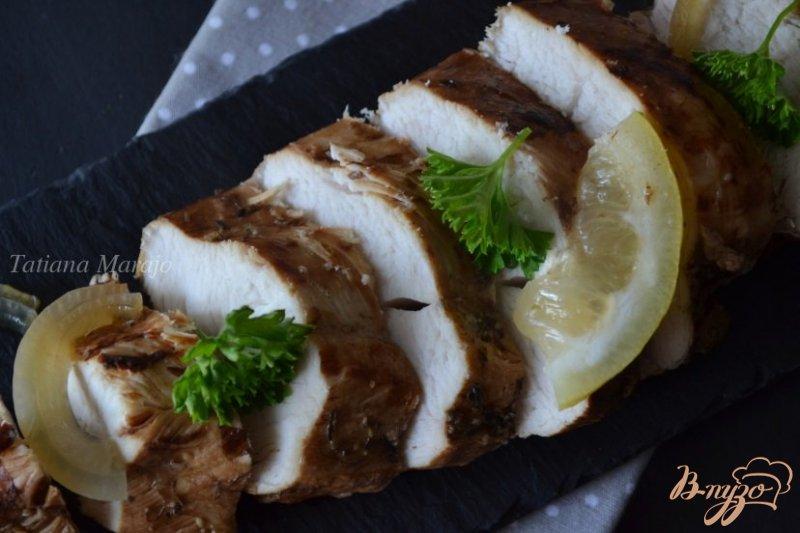 Фото приготовление рецепта: Куриные грудки в бальзамическом маринаде шаг №5