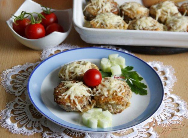 Рецепт Мясной рулет с сыром