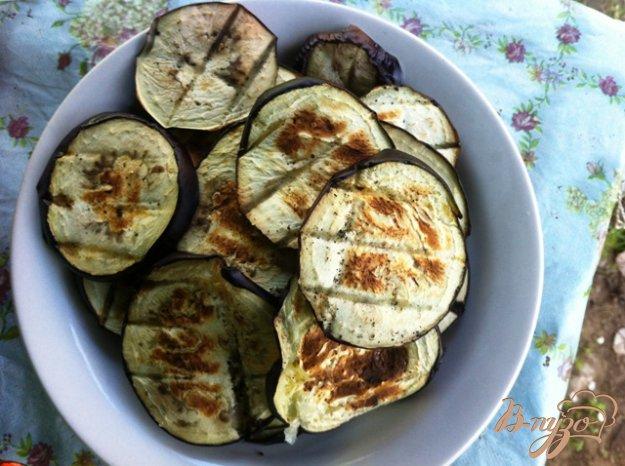 Рецепт Баклажаны гриль на мангале