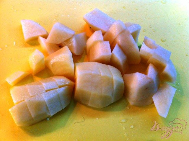 Фото приготовление рецепта: Крем суп из брокколи шаг №3