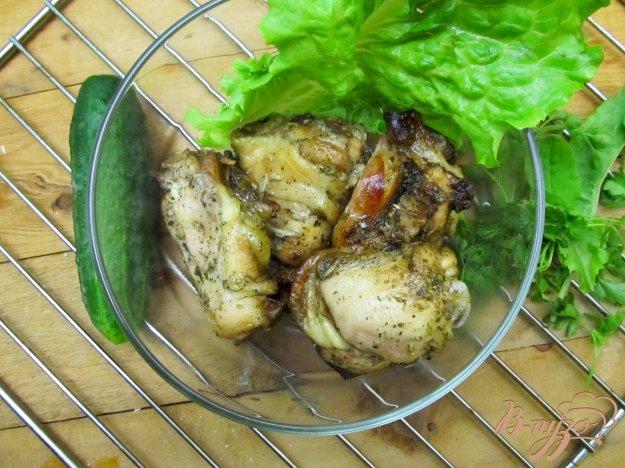 Рецепт Ароматные куриные бедра гриль.
