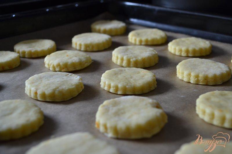 Фото приготовление рецепта: Апельсиновые сконы шаг №4
