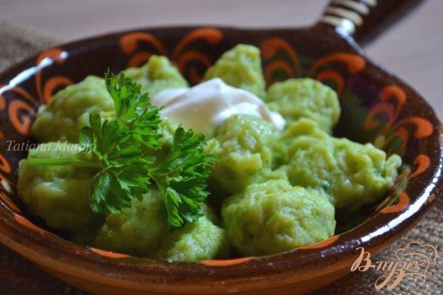Рецепт Горохово-картофельные клецки