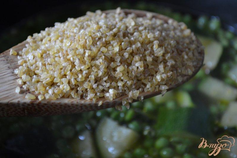 Фото приготовление рецепта: Густой овощной суп с булгуром шаг №3