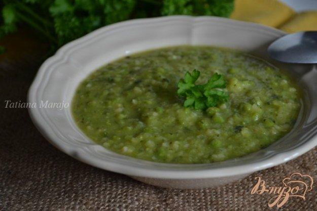 Рецепт Густой овощной суп с булгуром
