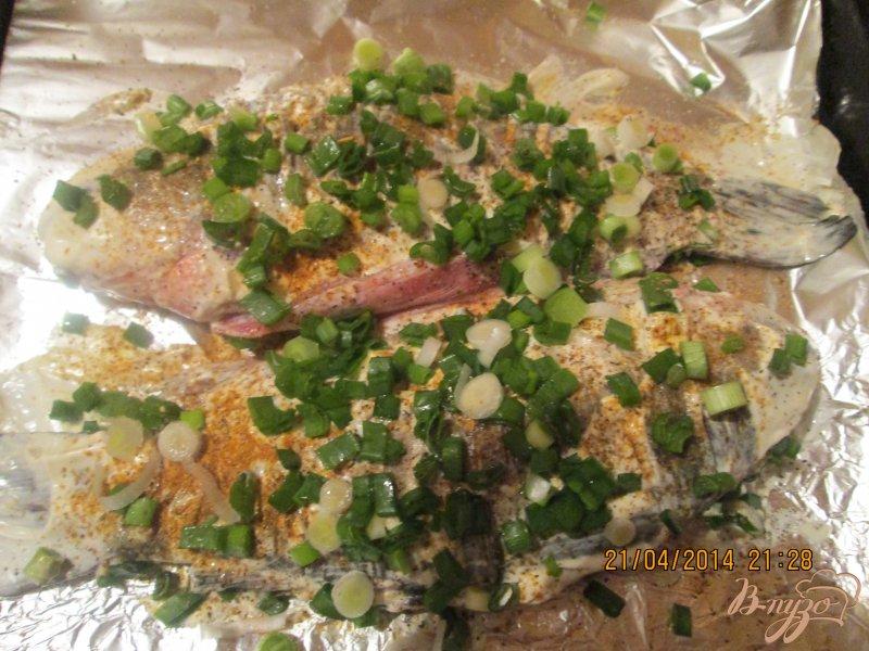 Фото приготовление рецепта: Запеченная рыба  в духовку шаг №3