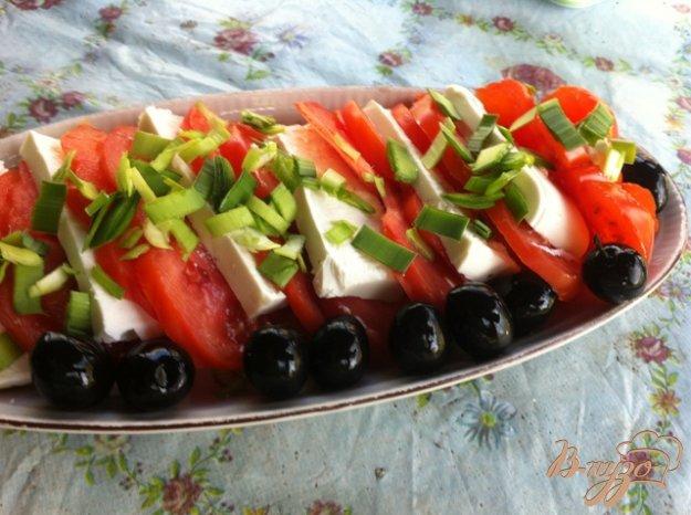 Рецепт Закуска из помидор и сыром Феты