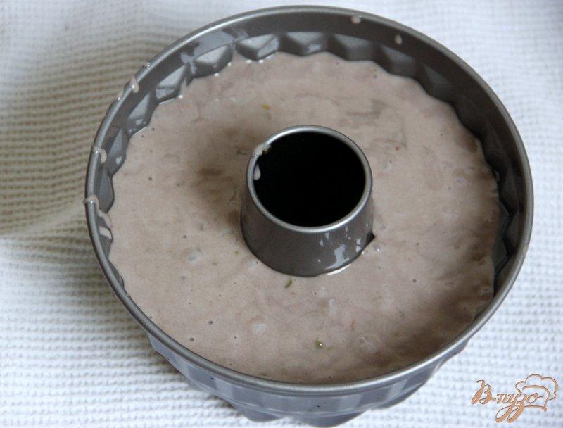 Фото приготовление рецепта: Винный кекс шаг №5