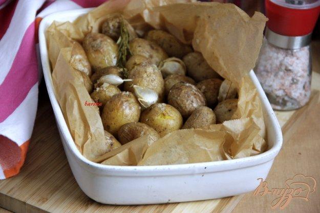 Рецепт Картофель, запечённый в пергаменте с травами