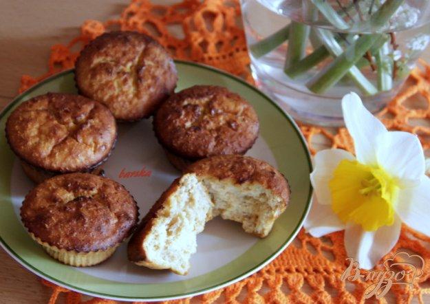 Рецепт Кексики с овсянкой, творогом и абрикосовым джемом
