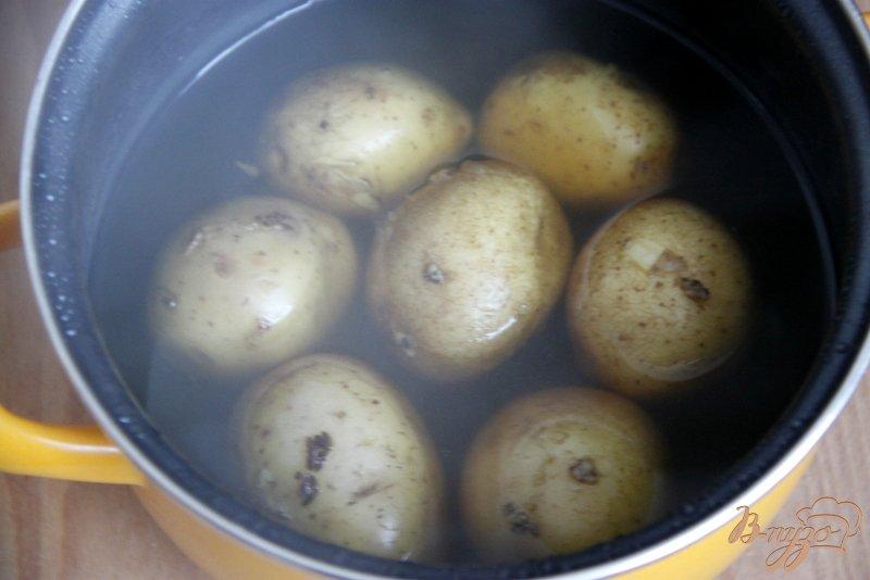 Фото приготовление рецепта: Горчичный картофель шаг №1