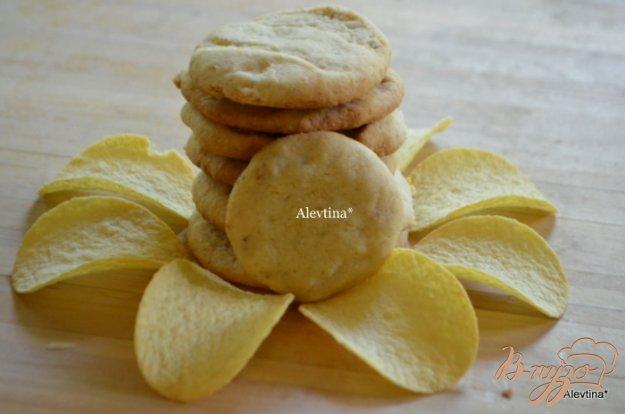 Рецепт Печенье с картофельными чипсами