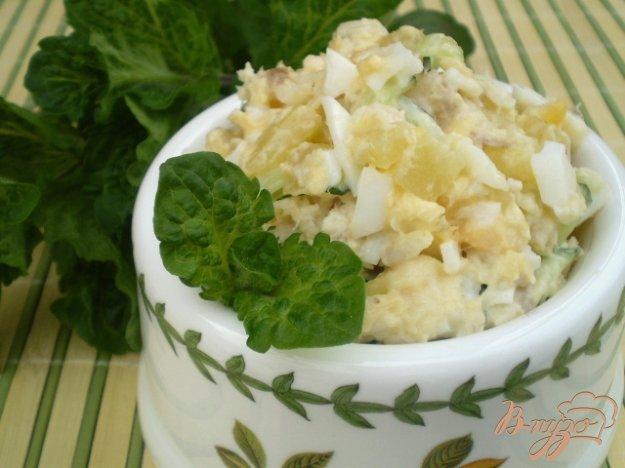 Рецепт Рыбный салат из минтая