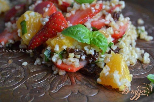 Рецепт Фруктовый салат с булгуром