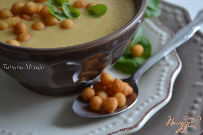 Фото приготовление рецепта: Овощной суп с сыром шаг №6