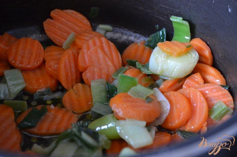 Фото приготовление рецепта: Овощной суп с сыром шаг №1