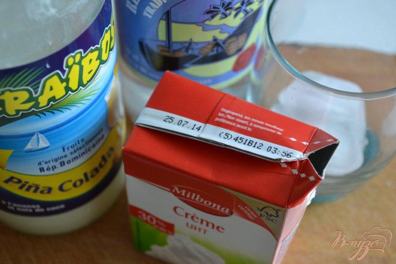 Фото приготовление рецепта: Коктейль с ромом шаг №1