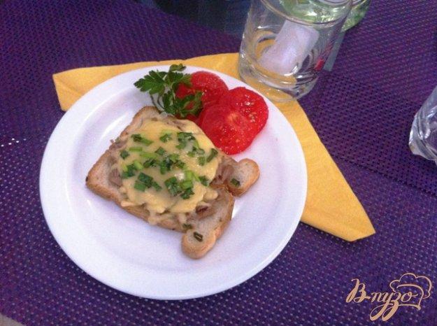 Рецепт Горячие бутерброды с тунцом
