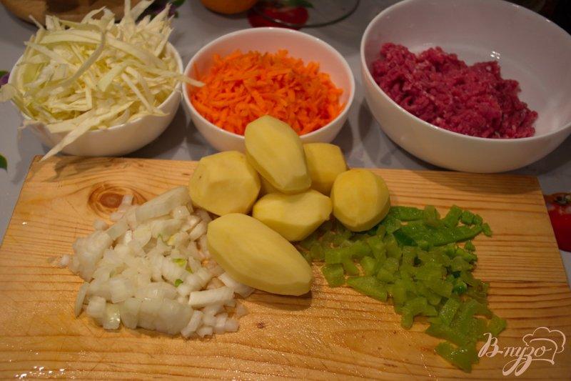 Фото приготовление рецепта: Суп Чехословацкий шаг №1