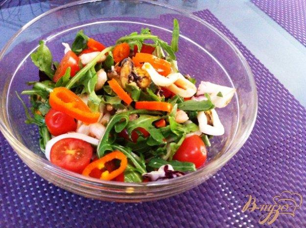 фото рецепта: Салат с морепродуктами