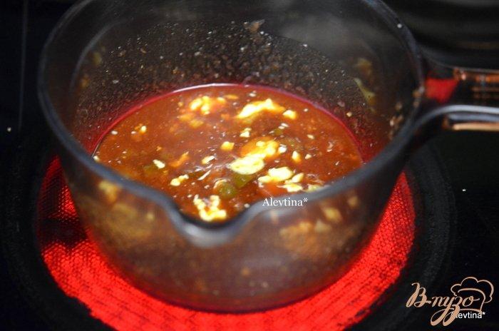 Фото приготовление рецепта: Лаковые свиные ребрышки с медовой глазурью шаг №2