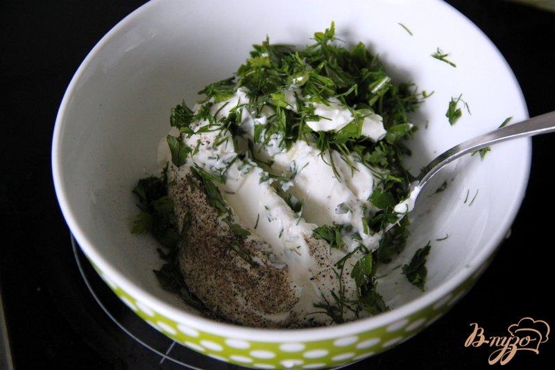 Фото приготовление рецепта: Фаршированный редис шаг №2