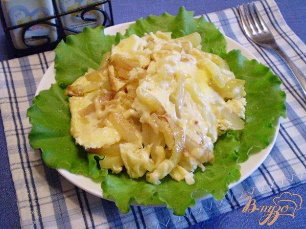 фото рецепта: Фриттата с картофелем и сыром
