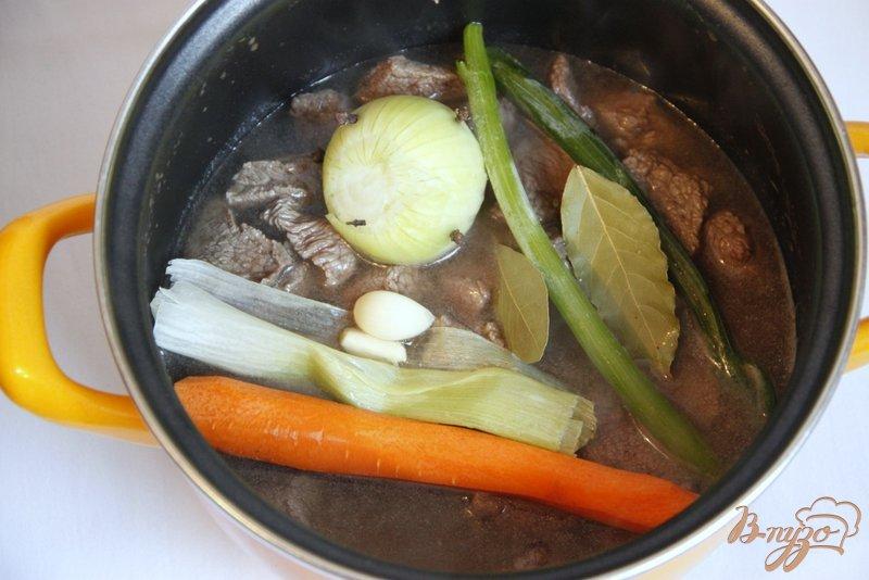 Фото приготовление рецепта: Бланкет Blanquette  из говядины шаг №2