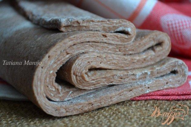 Рецепт Дрожжевое слоеное тесто (шоколадное)