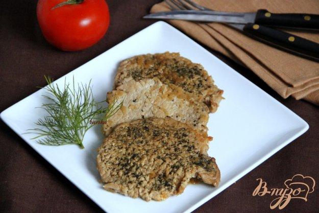 Рецепт Свинина с зеленью, тушеная в пикантном соусе