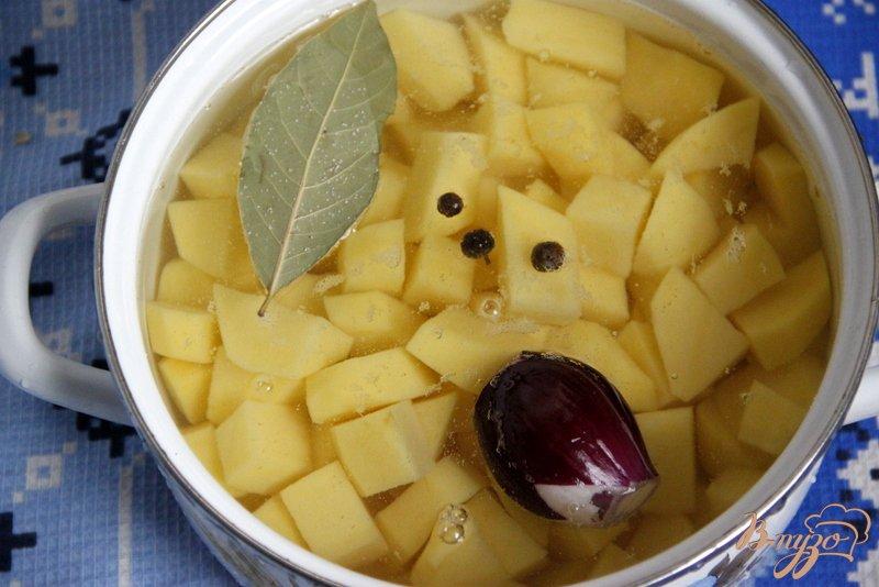 Фото приготовление рецепта: Сливочный картофель шаг №1