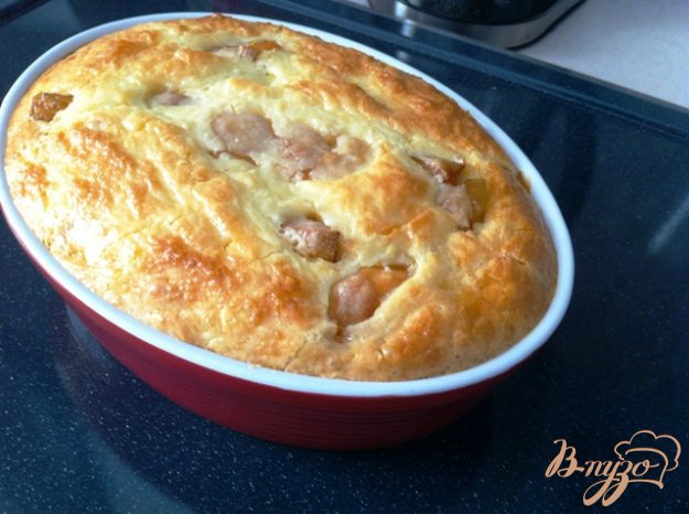 Рецепт Яблочный наливной пирог