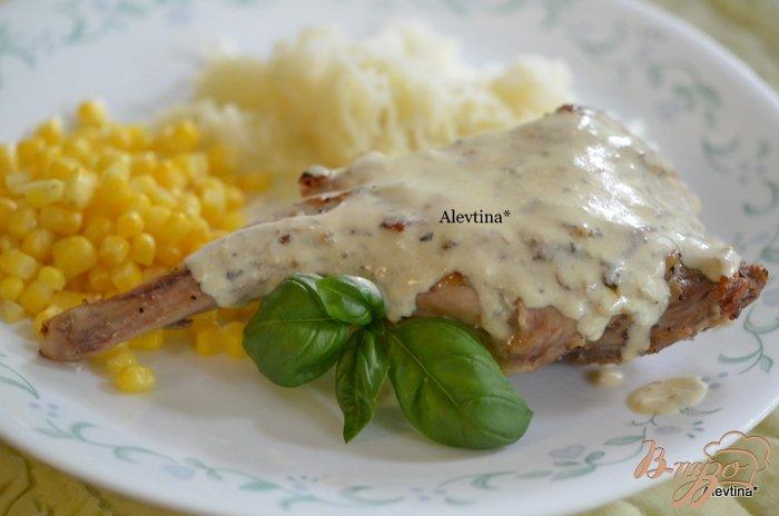 Фото приготовление рецепта: Кролик с горчичным соусом шаг №4