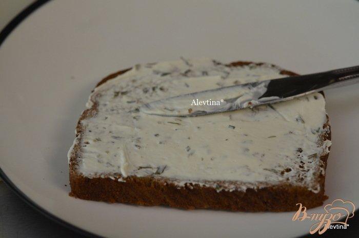 Фото приготовление рецепта: Сэндвич мозаика к чаю шаг №2