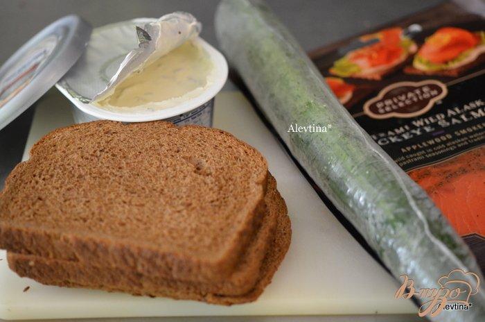Фото приготовление рецепта: Сэндвич мозаика к чаю шаг №1