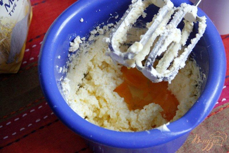 Фото приготовление рецепта: Мраморный кекс - пятиминутка шаг №2
