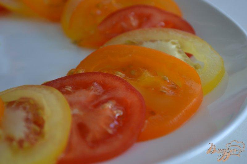 Фото приготовление рецепта: Овощной салат