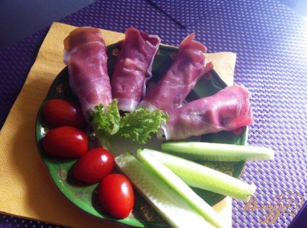 Рецепт Закуска из прошутто